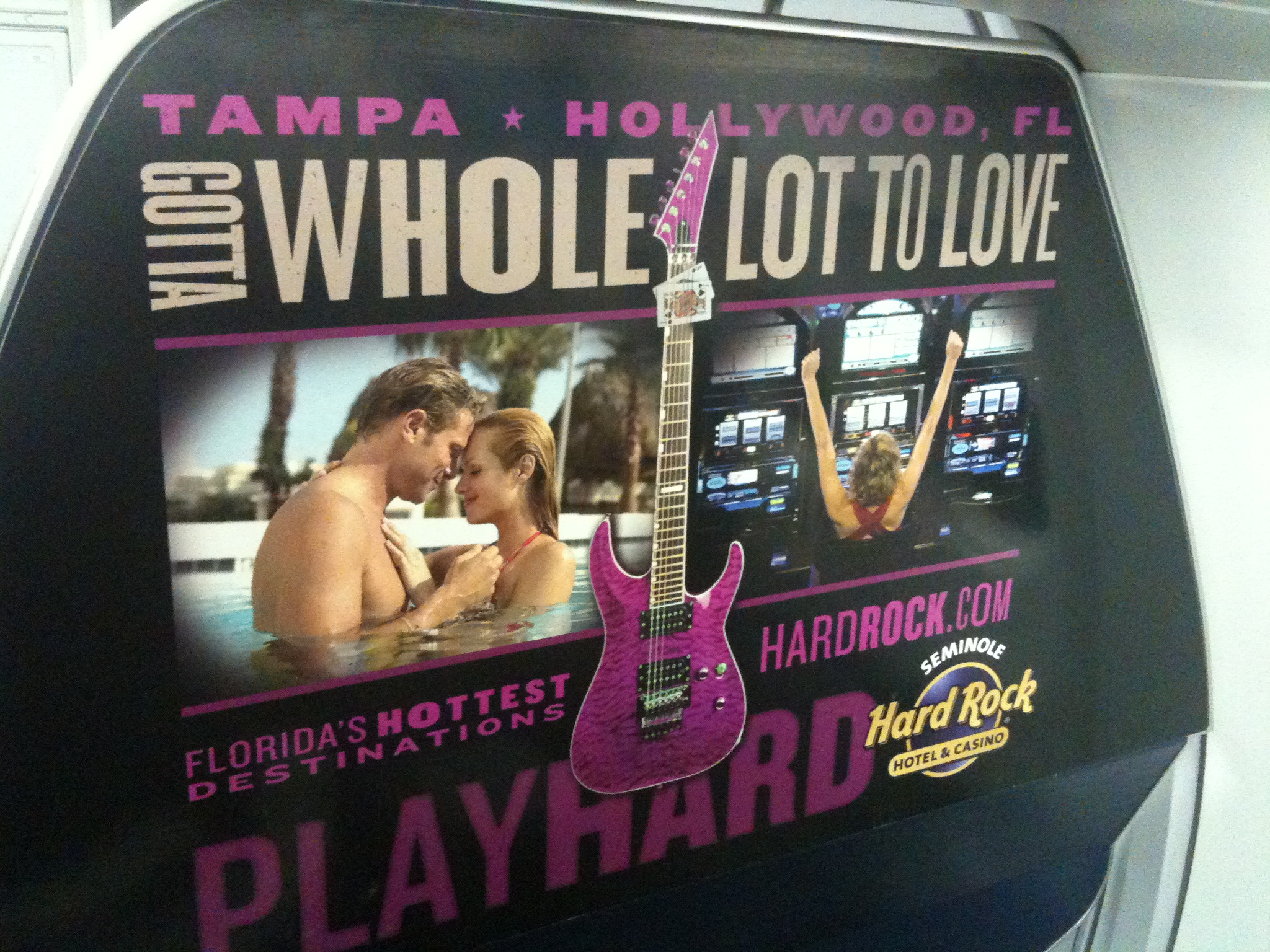 Spirit Airlines: Seminole Hard Rock Hotel & Casino