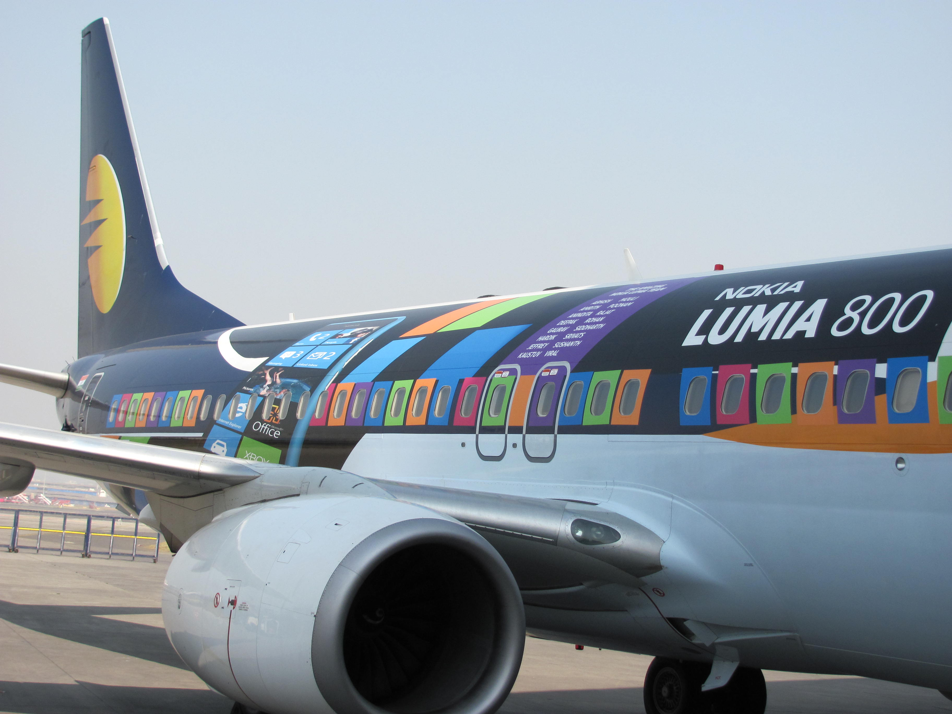 Jet Airways: Nokia Lumia 800