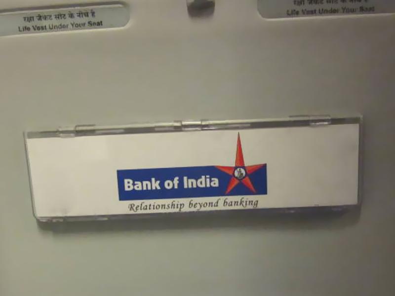 Jet Airways: Bank of India