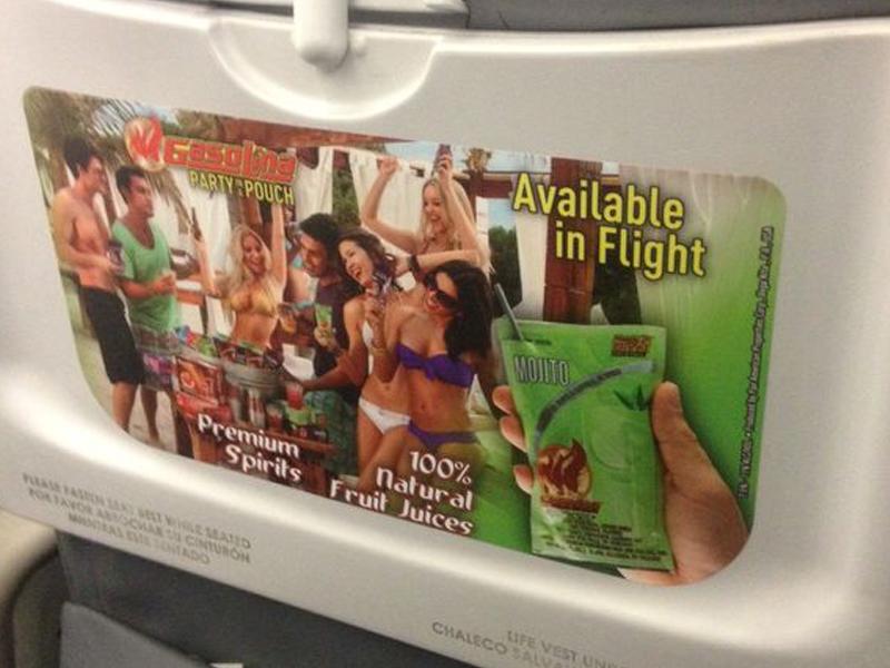 Spirit Airlines: Gasolina