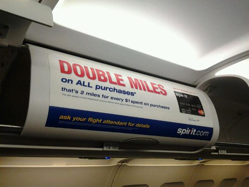 Spirit Airlines: MasterCard