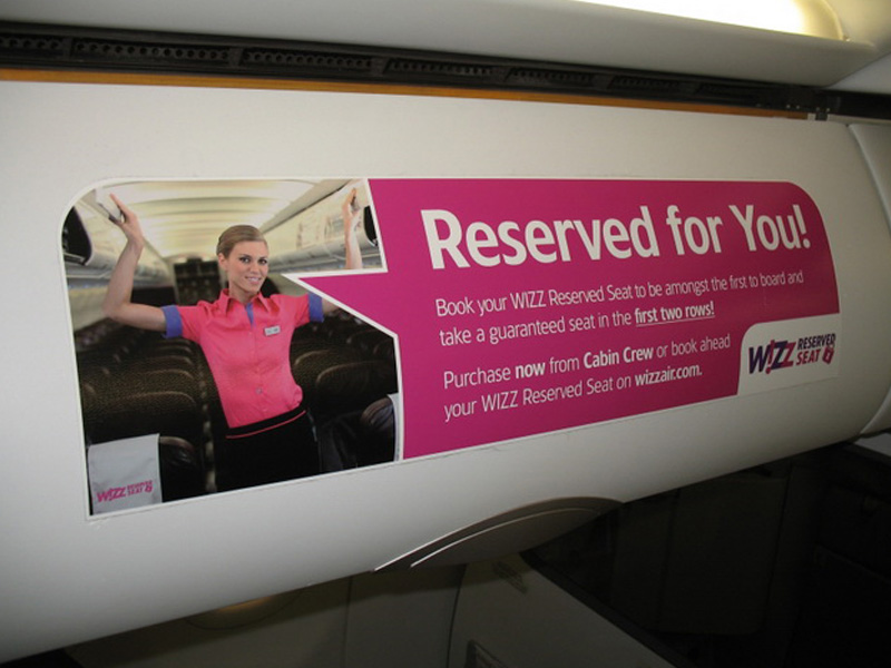 Wizz Air: Reserved Seat