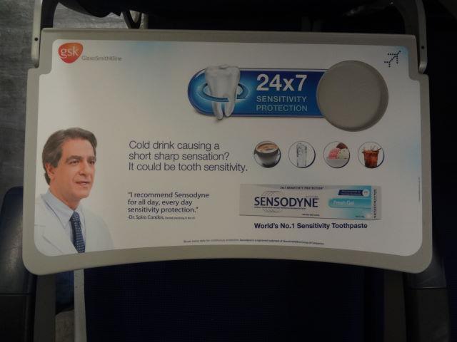 IndiGo: Sensodyne-Sensitivity Toothpaste